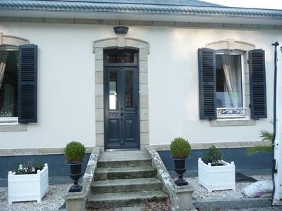 Réplique à l''identique porte d''entrée sur mesure en bois - Finistère