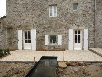 Réalisation de portes fenêtres sur mesure en bois