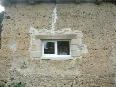 Réalisation d''une fenêtre sur mesure en bois
