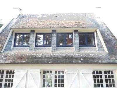 Rénovation et pose de plusieurs fenêtres en mixte alu / bois - Finistère