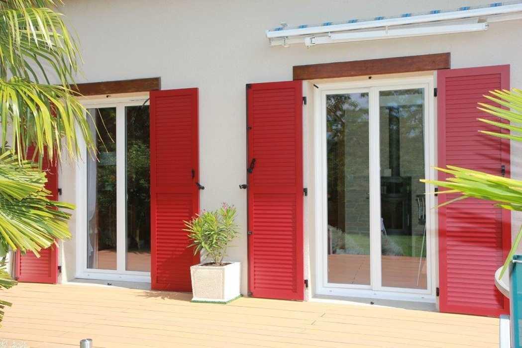 Réalisation de Porte Fenêtre PVC - marque Réhau, gamme Aralya 0