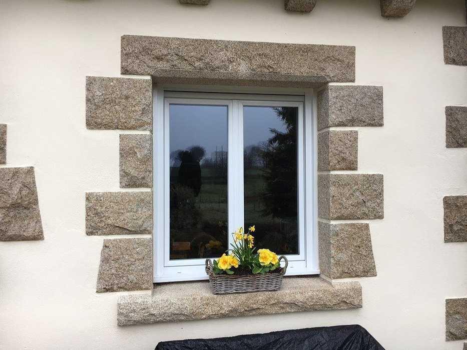 Réalisation d''une fenêtre PVC 2 vantaux, oscillo-battante 0
