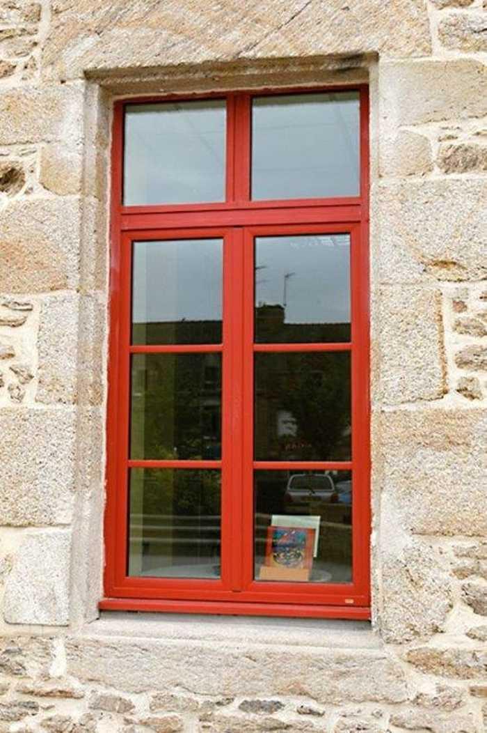 Réalisation d''une fenêtre sur mesure en mixte alu/bois 0