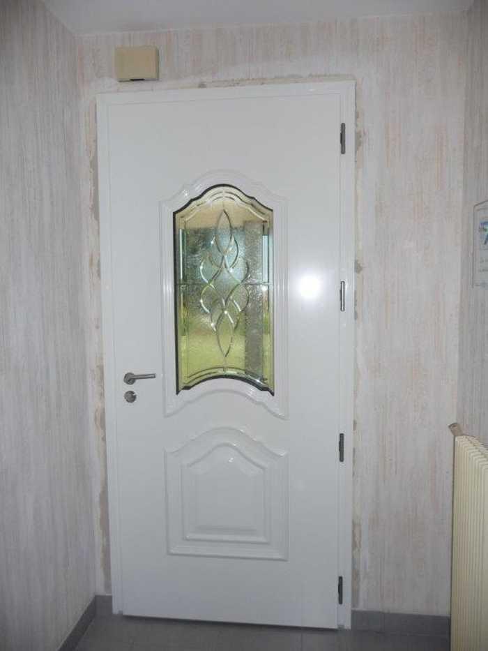 Rénovation et pose d''une porte d''entrée en aluminium 0