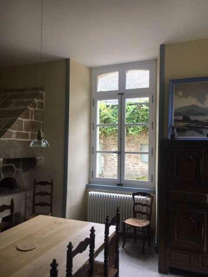 Rénovation fenêtres bois château classé aux monuments historiques - Quimper img9667