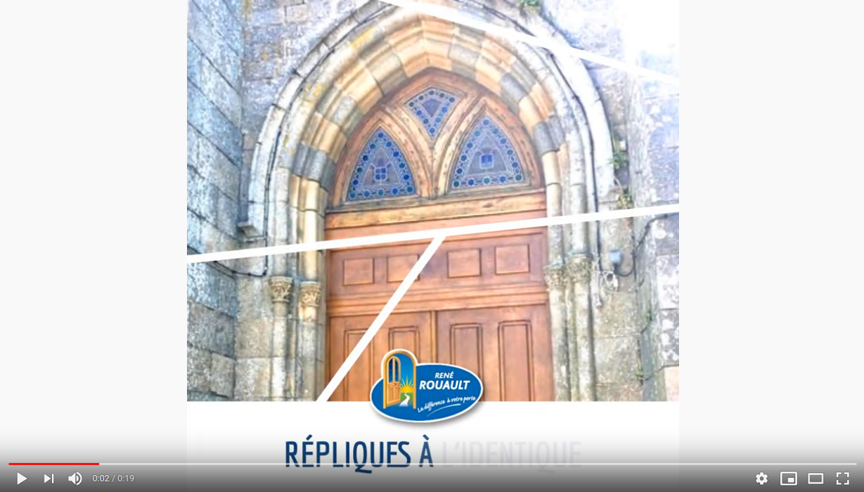 Conserver l''aspect prestigieux de notre architecture : répliques à l''identique 0