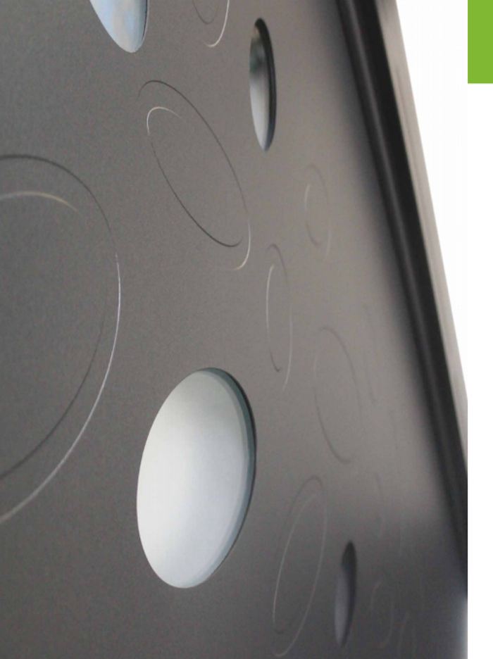 Portes d''entrées aluminium avec inclusions : pierre, métal 0